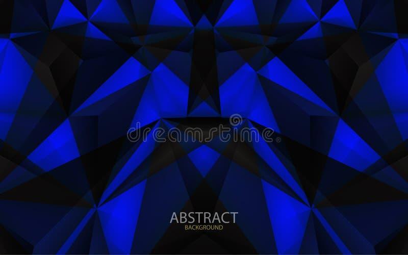 抽象几何背景 也corel凹道例证向量 库存照片