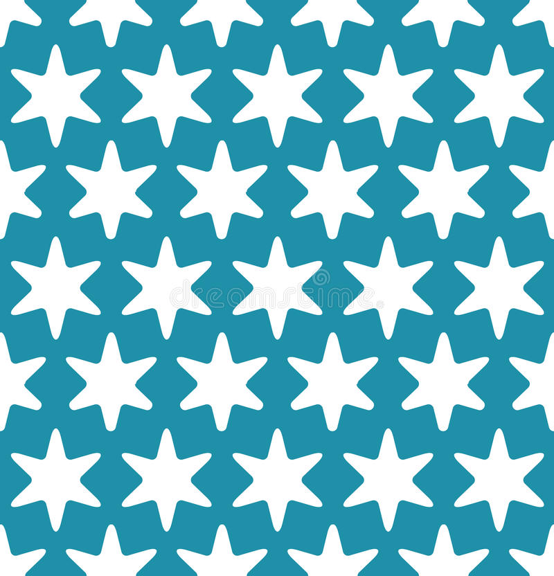 抽象几何行家时尚枕头蓝色圣诞节特征模式 皇族释放例证