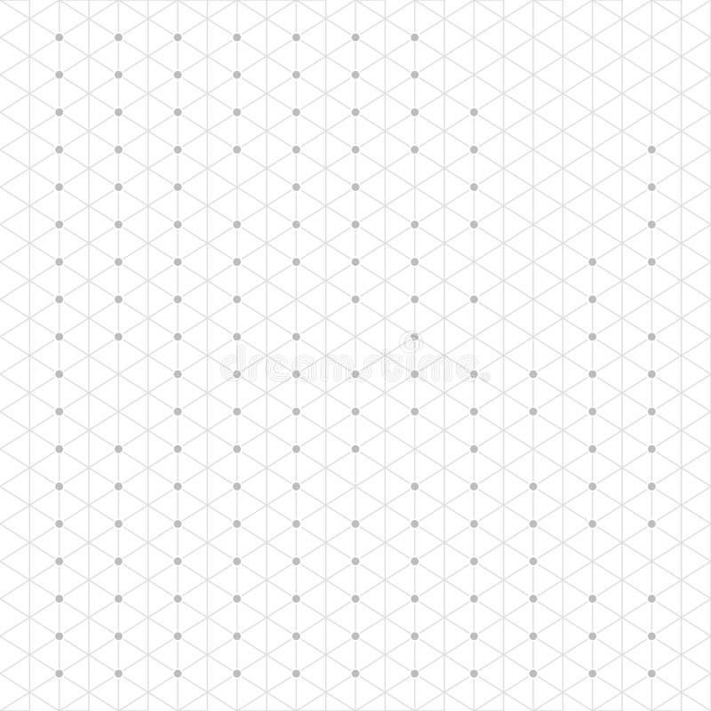 抽象几何行家时尚Techno设计三角样式背景 库存例证