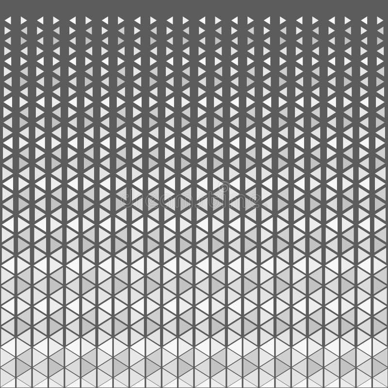 抽象几何行家时尚Techno设计三角样式背景 皇族释放例证
