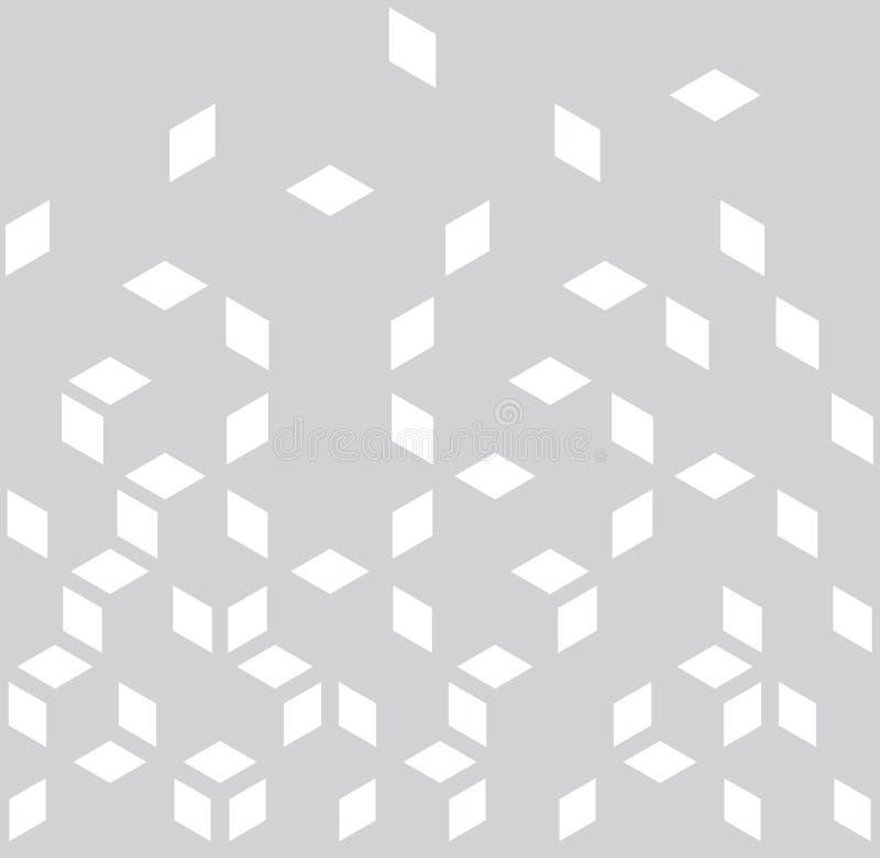 抽象几何黑白图表最小的半音样式 皇族释放例证