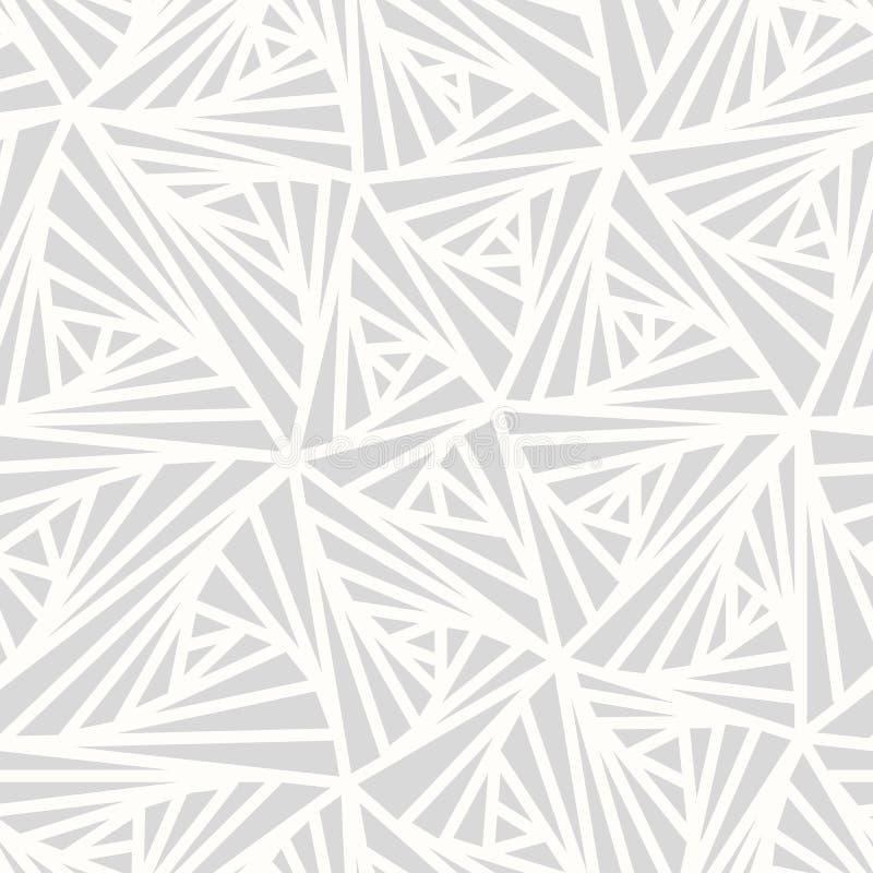抽象几何轻的传染媒介样式 向量例证