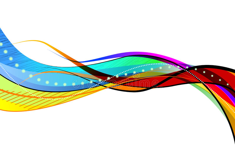抽象几何 免版税库存图片