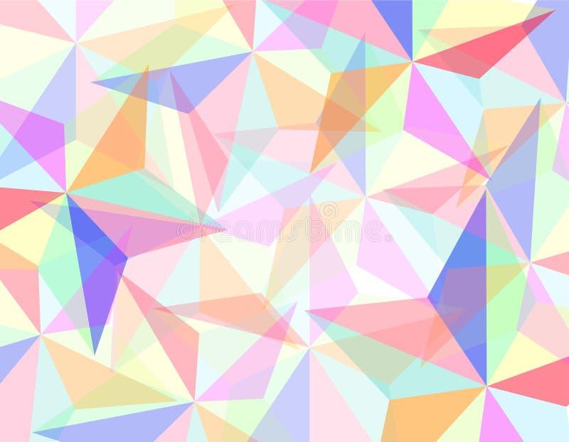 抽象几何 库存例证