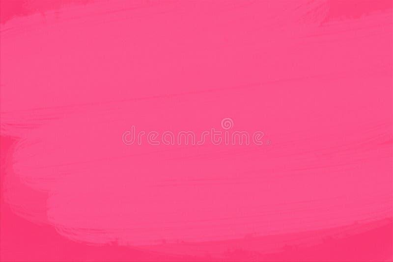 抽象刷子有桃红色纸纹理背景 免版税库存图片