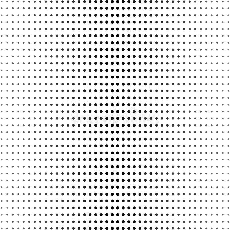 抽象半音样式传染媒介背景 被定调子的蓝色半音例证 半音小点 半音作用 半音样式 传染媒介halft 向量例证
