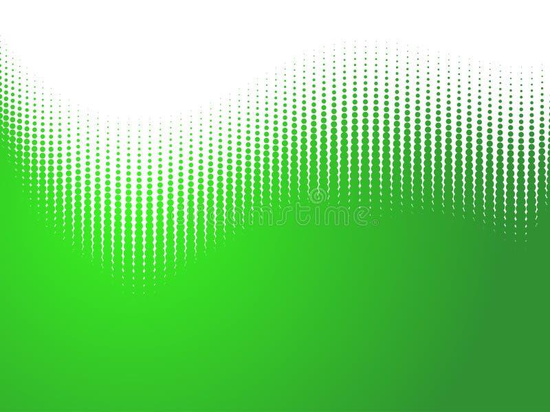 抽象半音通知 库存例证