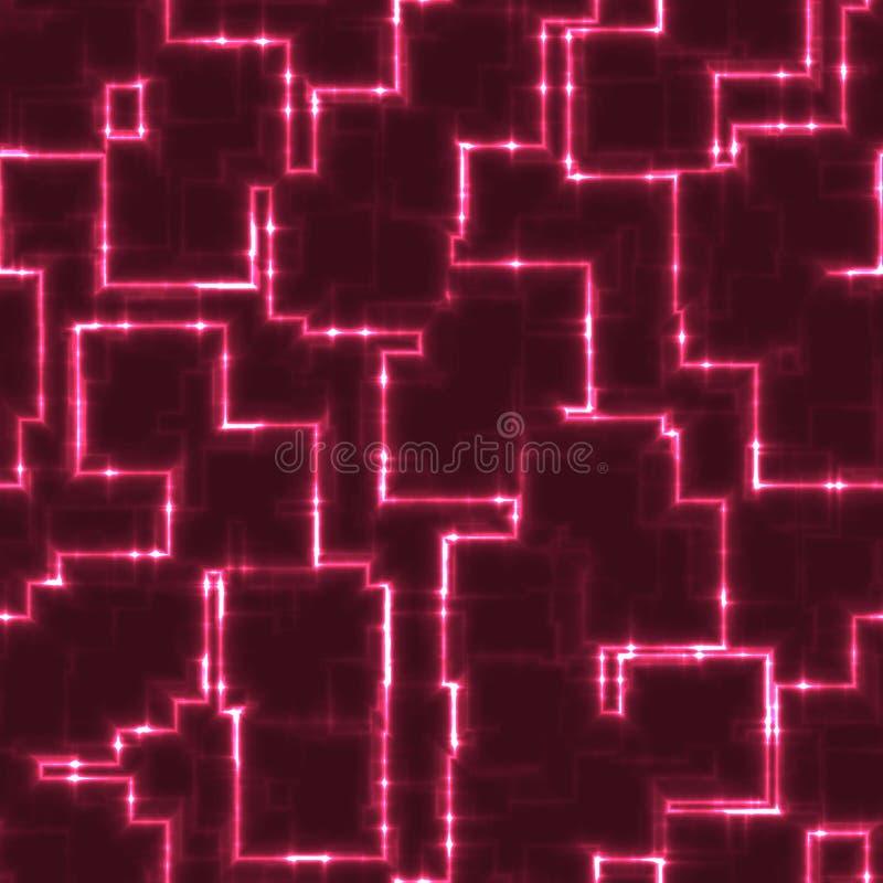 抽象发光的立方体纹理背景 向量例证