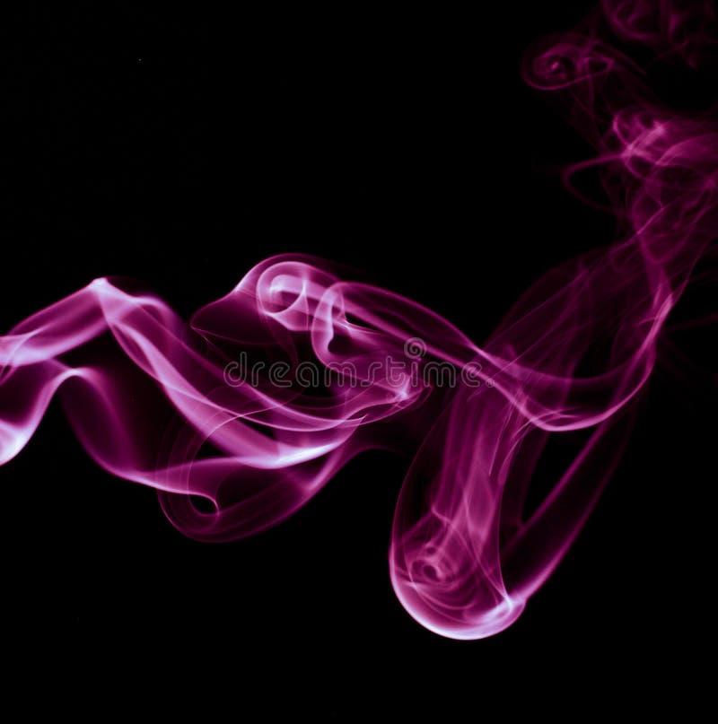 抽象发烟漩涡 免版税库存图片