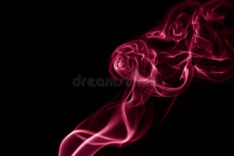 抽象发烟漩涡 图库摄影