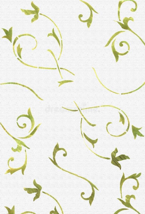 抽象叶子轻的纸纹理 免版税图库摄影