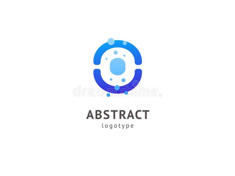 抽象商标象设计 健康,帮助,供应中心,关心,商标 传染媒介例证,编辑可能的图形设计 皇族释放例证