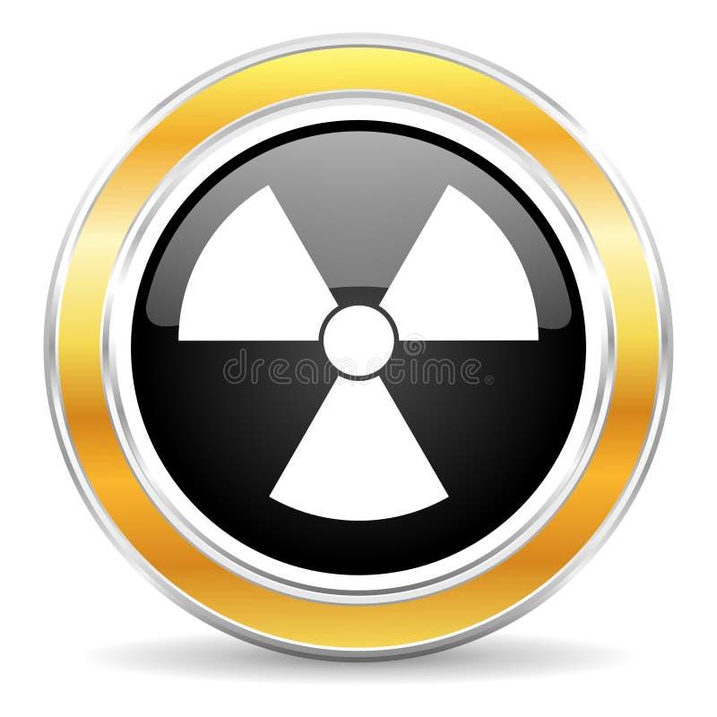 抽象图标例证辐射 免版税库存图片