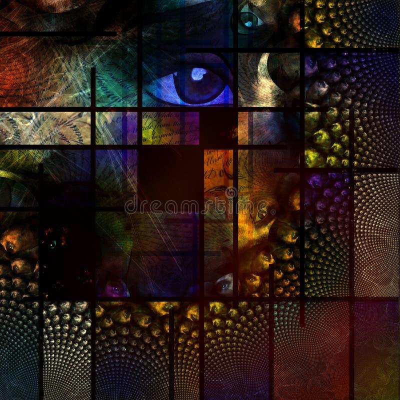 抽象图象 向量例证