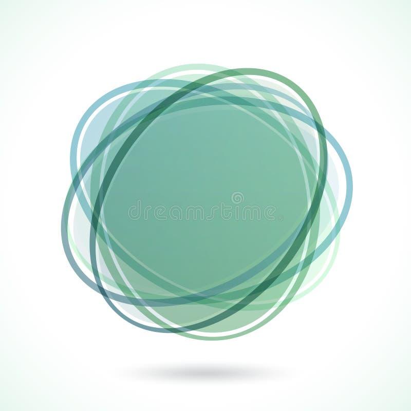 抽象圈子框架 图库摄影