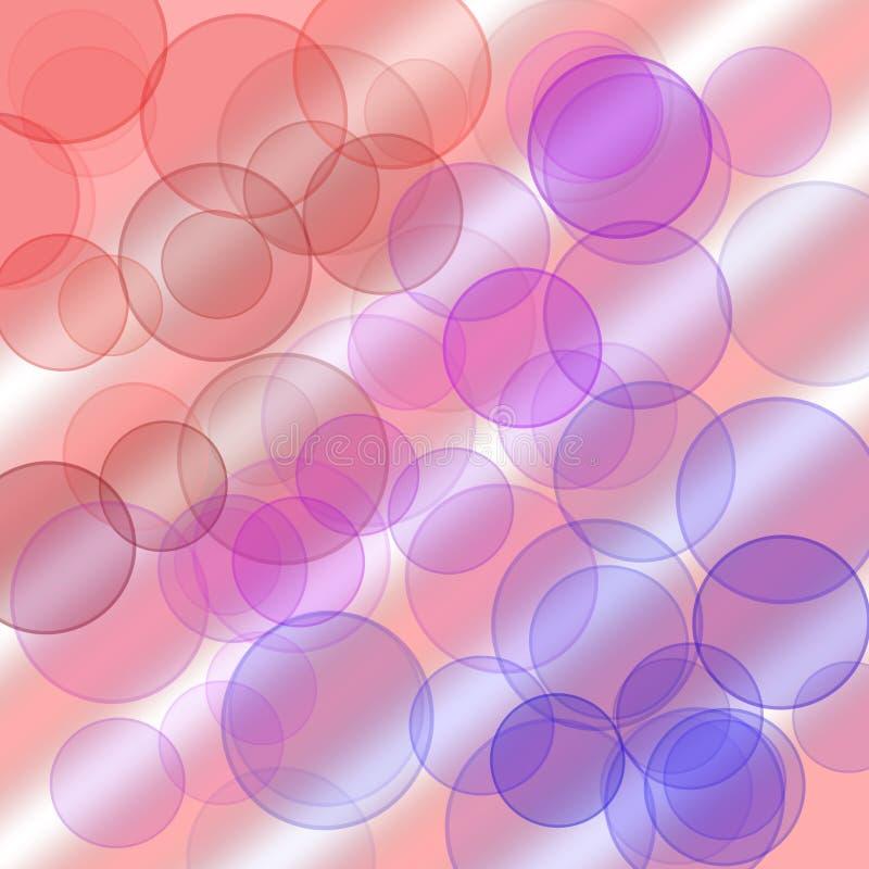 抽象圈子模式 向量例证