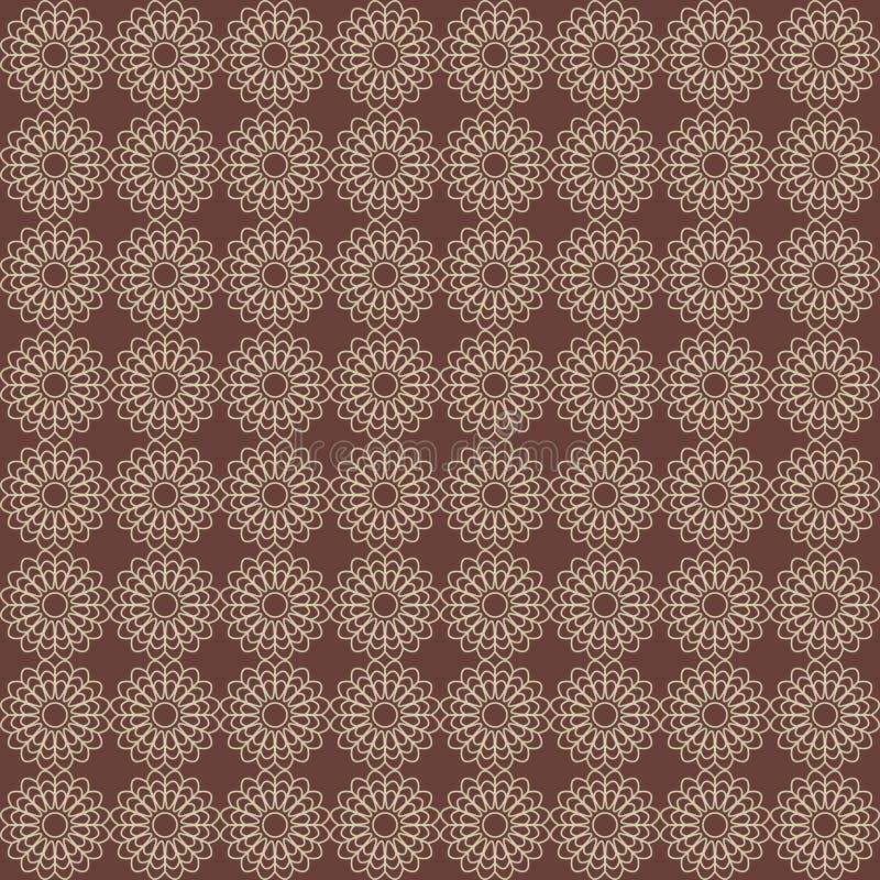 抽象圈子的传染媒介无缝的样式 皇族释放例证