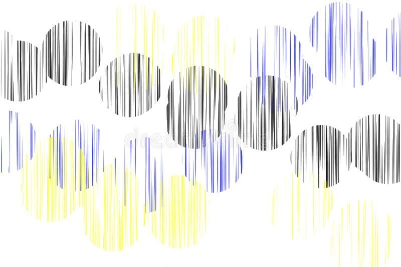 抽象圈子 库存例证
