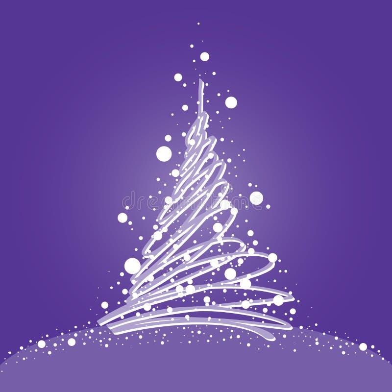 Download 抽象圣诞树 向量例证. 插画 包括有 向量, 灰色, 空白, 背包徒步旅行者, 结构树, xmas, 庆祝 - 15677573