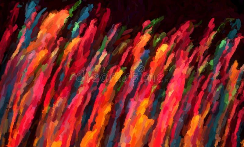 抽象圣诞灯背景 免版税图库摄影