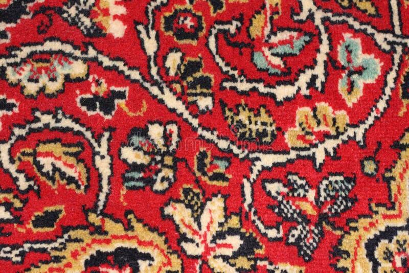 抽象地毯五颜六色的纹理 图库摄影