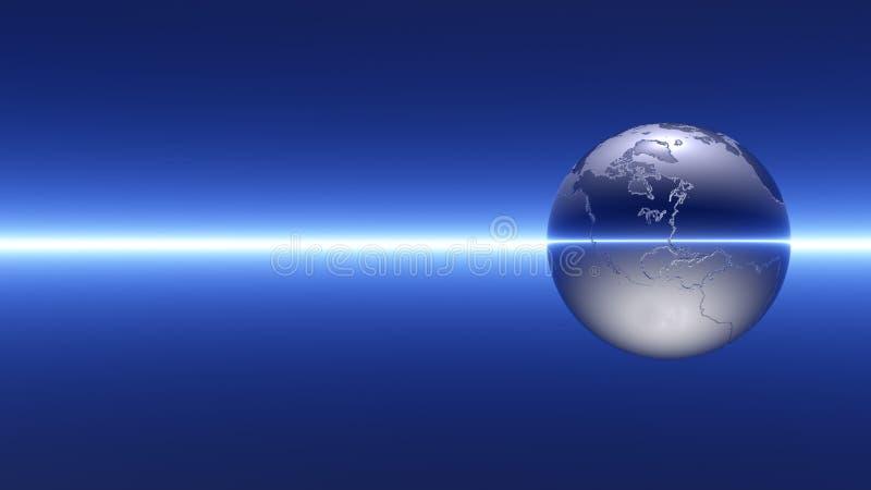 抽象地球 库存例证