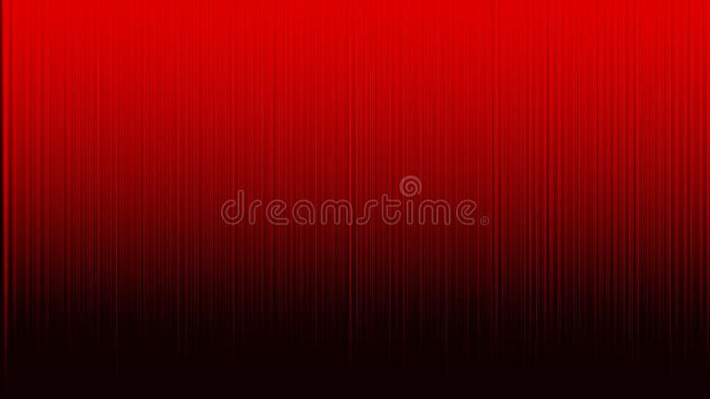 抽象垂直条纹在红色背景中构造 皇族释放例证