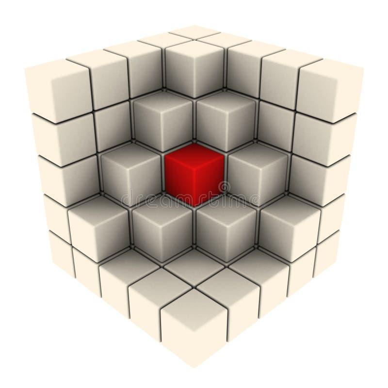 抽象多维数据集 向量例证