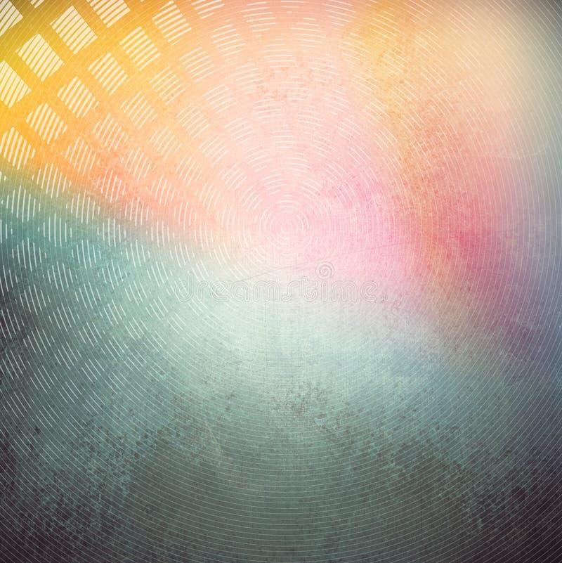 抽象多颜色背景 免版税库存图片