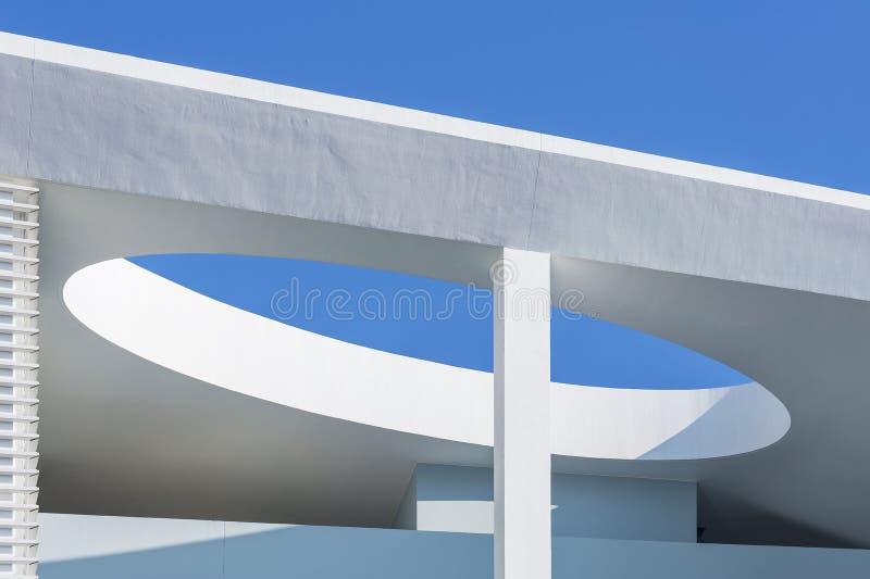 抽象大厦 免版税库存图片