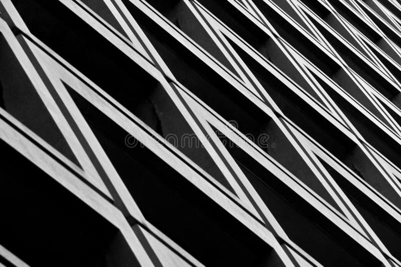抽象大厦 库存照片