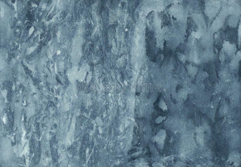 抽象大理石水彩背景 被手工造的纹理与 库存照片