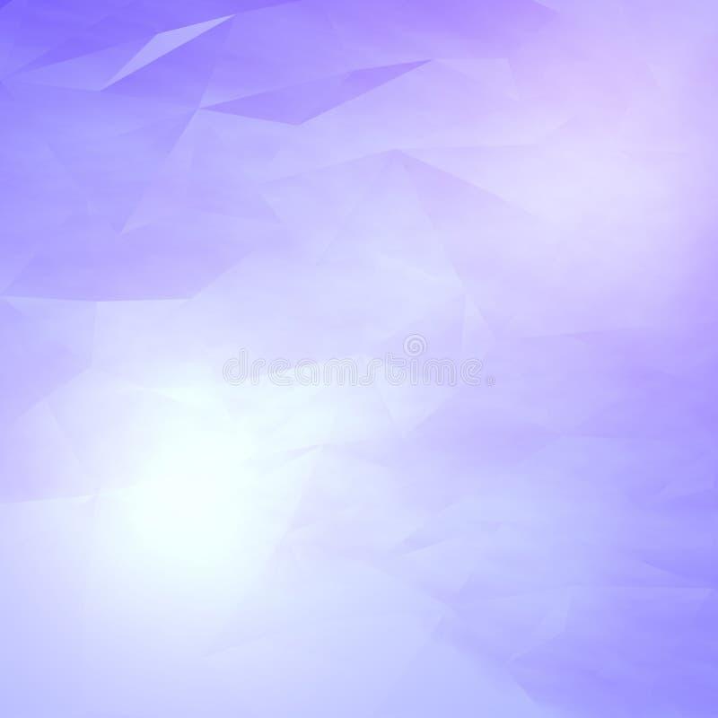 抽象天堂般的背景 皇族释放例证