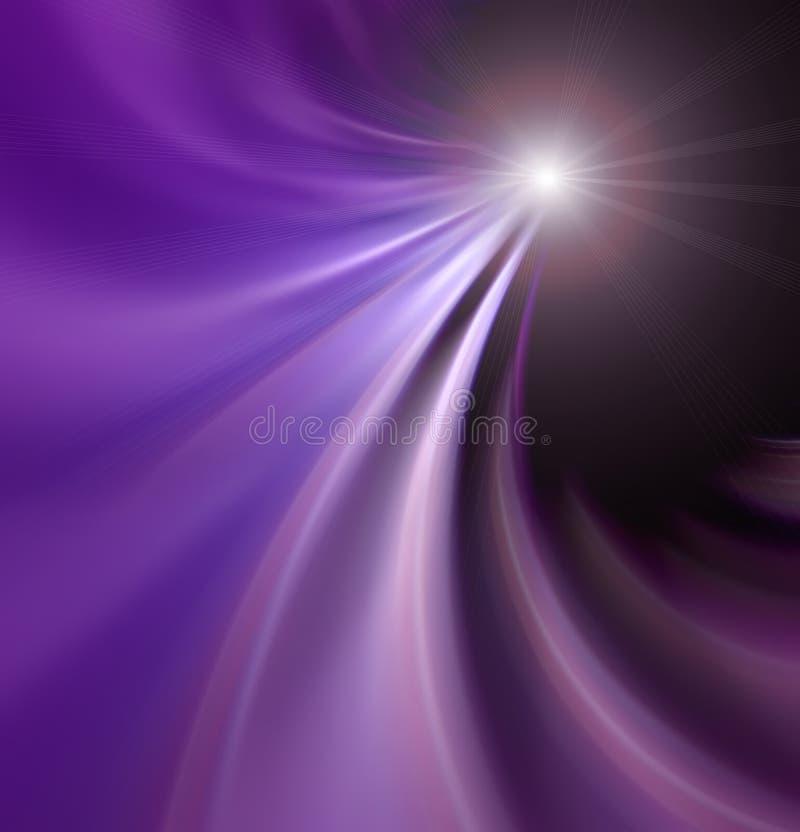 抽象奇迹星形 向量例证