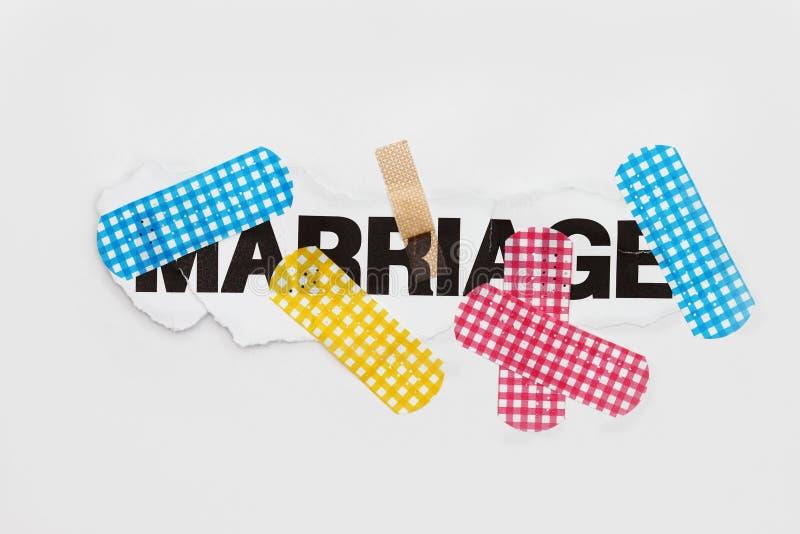 抽象婚姻维修服务 免版税库存照片