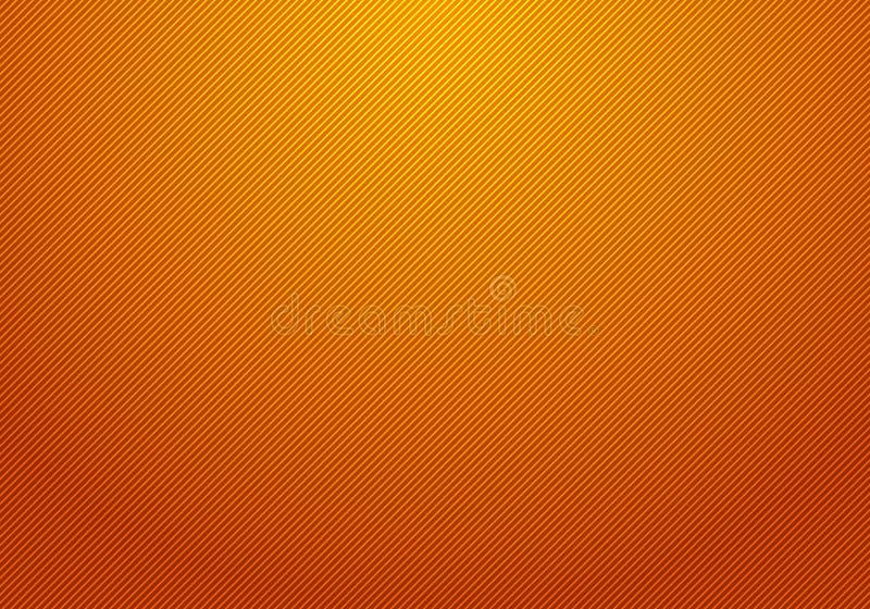 抽象对角线镶边了您的事务的轻和橙色梯度背景纹理 皇族释放例证