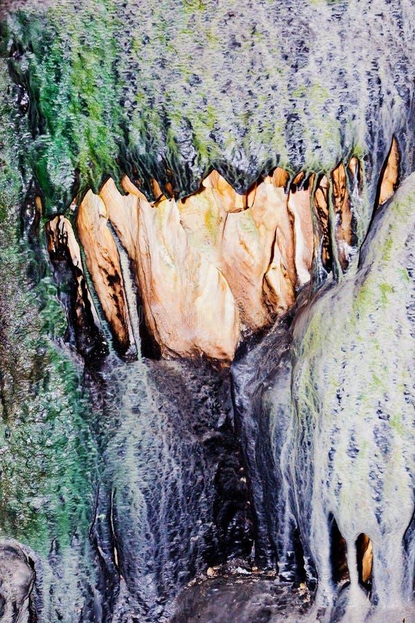 抽象岩石 库存图片