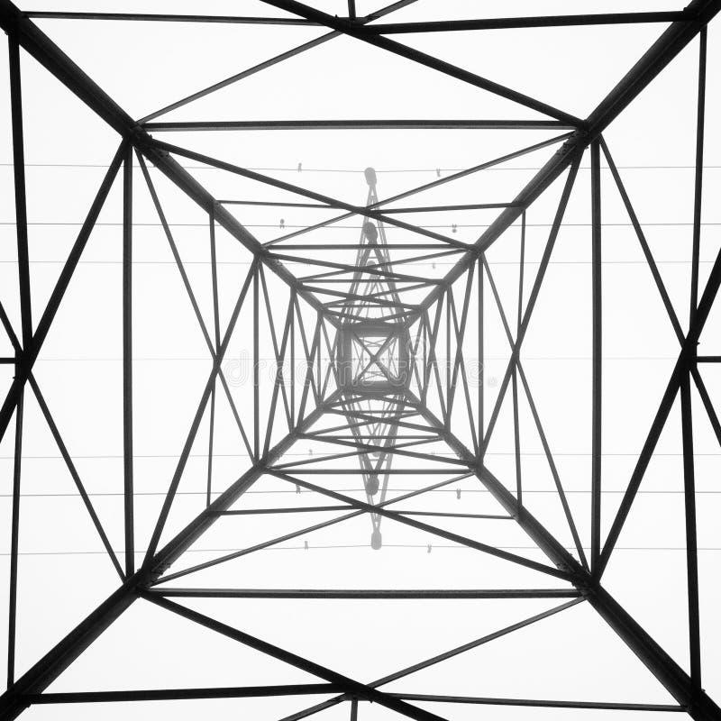 抽象帆柱 库存例证