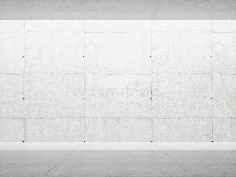 抽象建筑学内部 库存例证