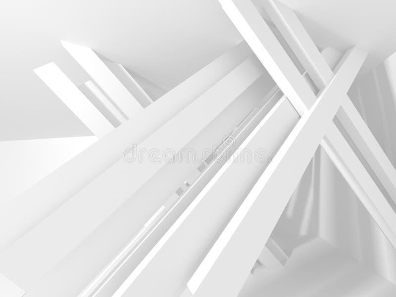 抽象建筑学现代设计背景 向量例证