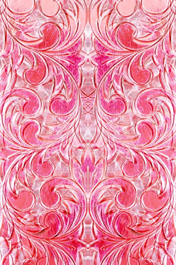 抽象异乎寻常的华丽粉红色 库存照片