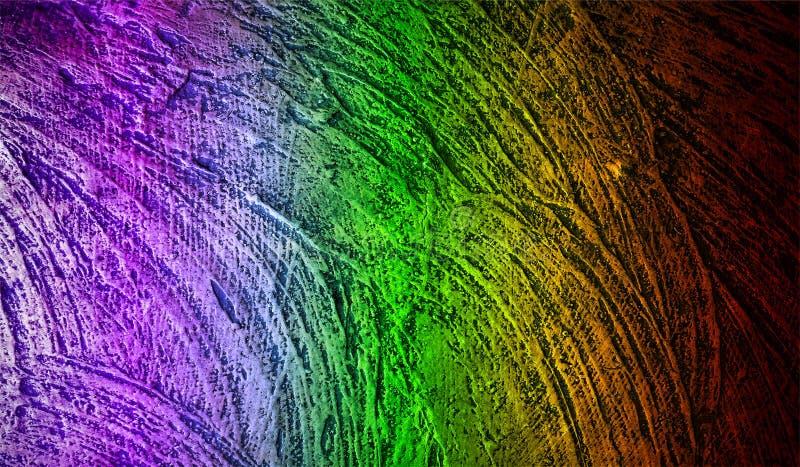 抽象彩虹被遮蔽的织地不很细背景 纸难看的东西背景纹理 背景墙纸 向量例证