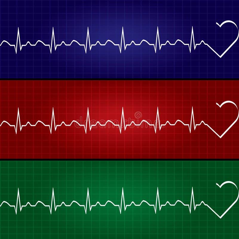 Download 抽象心跳心电图例证 向量例证. 插画 包括有 生活, 技术, 设计, 脉冲, 重点, 例证, 图形, 蓝色 - 72356728