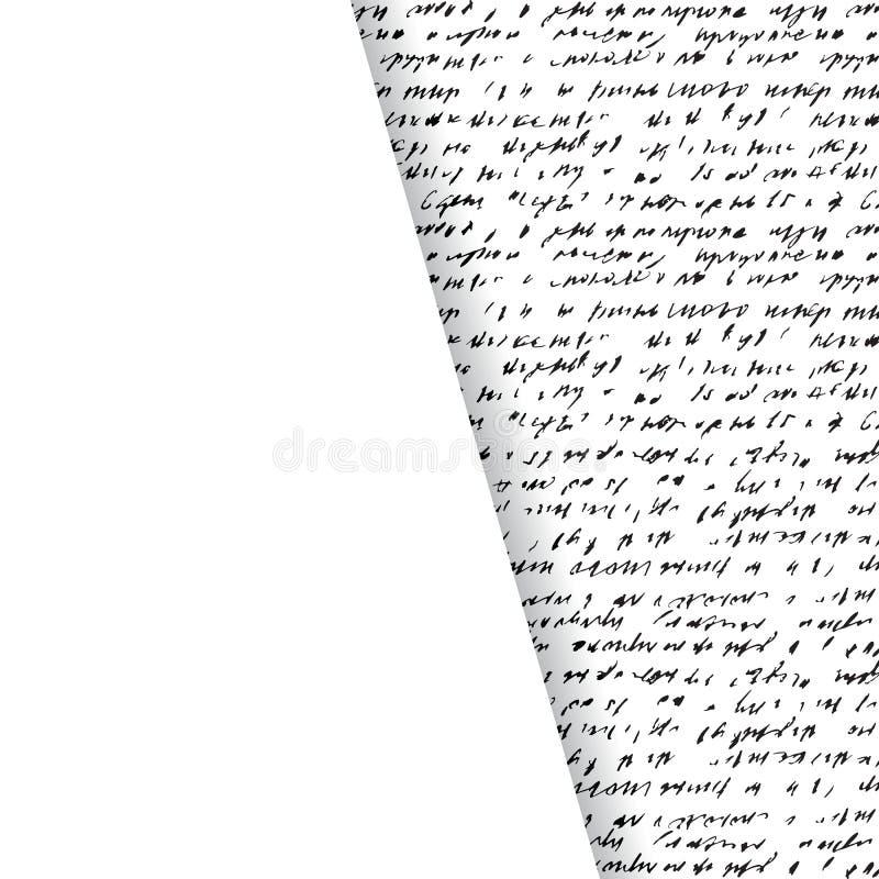 抽象手写背景  向量例证
