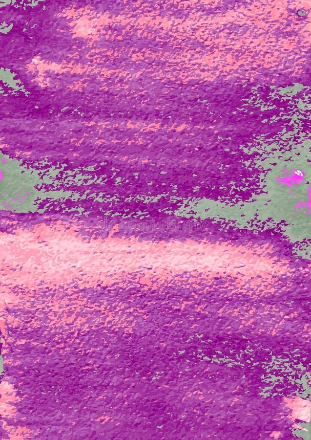 抽象手绘画 艺术性的五颜六色的模板 水彩 向量例证