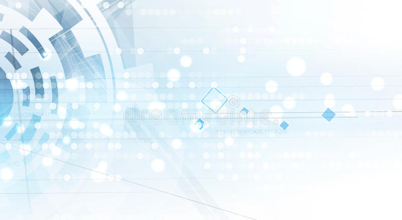 抽象技术背景事务&发展方向 库存例证