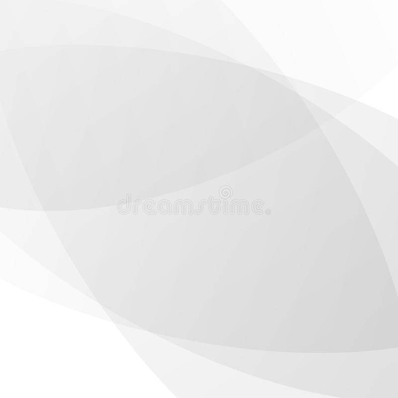 抽象技术背景,白色和灰色现代设计背景传染媒介 库存例证
