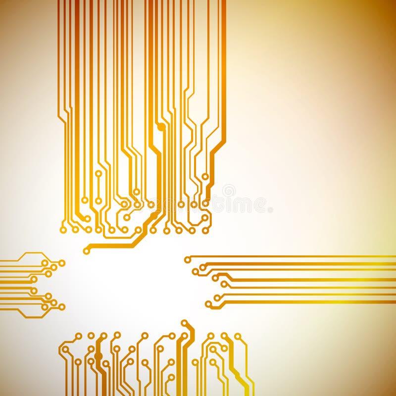 抽象技术背景 向量例证