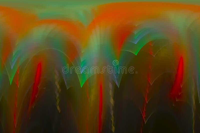 抽象数字分数维当前烟花发光的混乱背景飞溅力量幻想爆炸设计飞溅,闪闪发光 向量例证