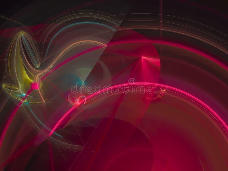 抽象数字式分数维现代样式飞溅独特的滤网概念爆炸卡片未来派背景回报创造性的网络 皇族释放例证